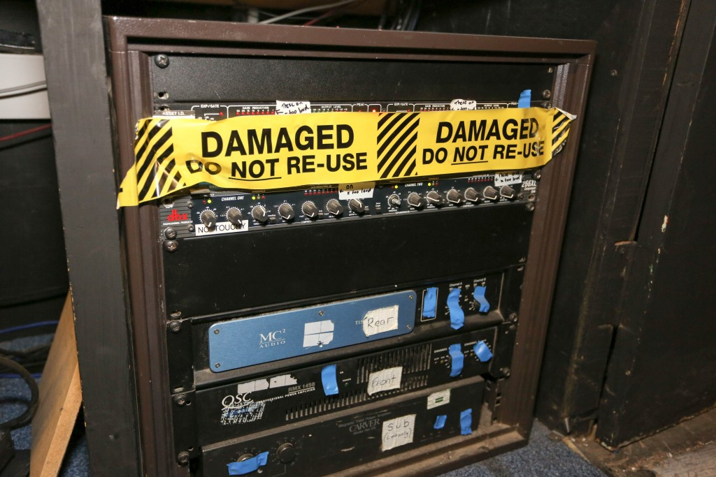 Damaged Do Not Reuse